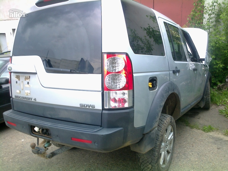 Land-Rover Discovery, Automobilis dalimis